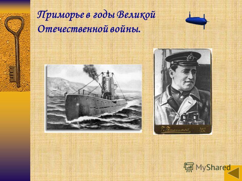 Приморье в годы Великой Отечественной войны..