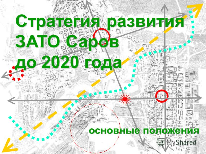 Стратегия развития ЗАТО Саров до 2020 года основные положения