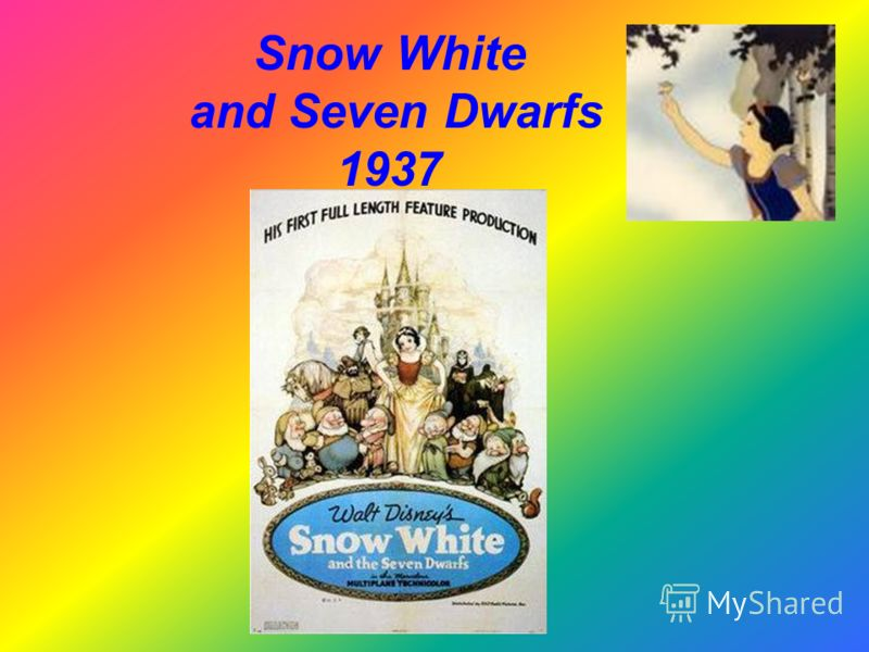 Snow White and Seven Dwarfs 1937