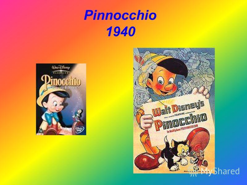 Pinnocchio 1940