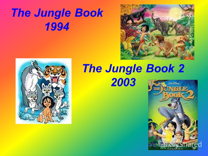 The Jungle Book 1994 The Jungle Book 2 2003