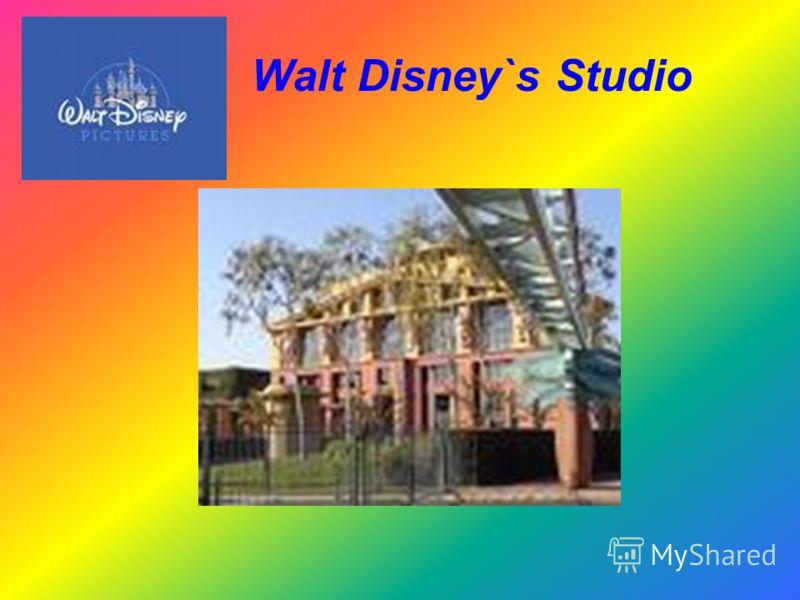 Walt Disney`s Studio