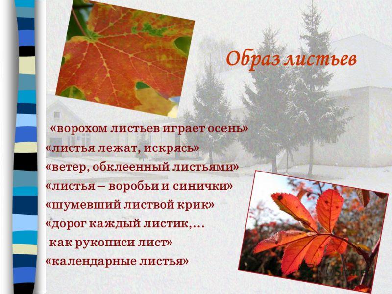 Тема природы Здесь осень и усталые поля. Топчу полей щетинистые спины И вижу, вижу ручейки тропинок, Сбегающих к дороге, как к реке…