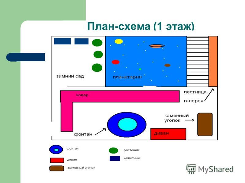 План-схема (1 этаж)