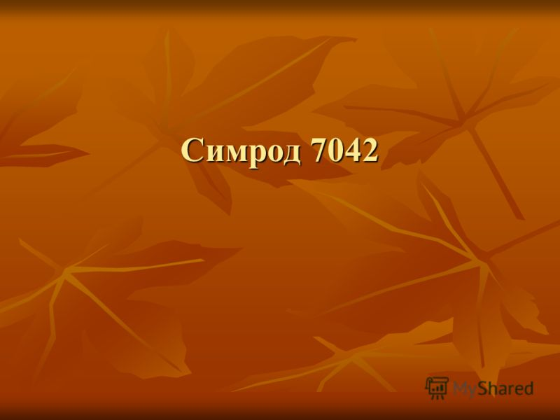 Симрод 7042