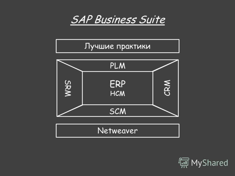 HCM SRM CRM SCM PLM Netweaver SAP Business Suite Лучшие практики