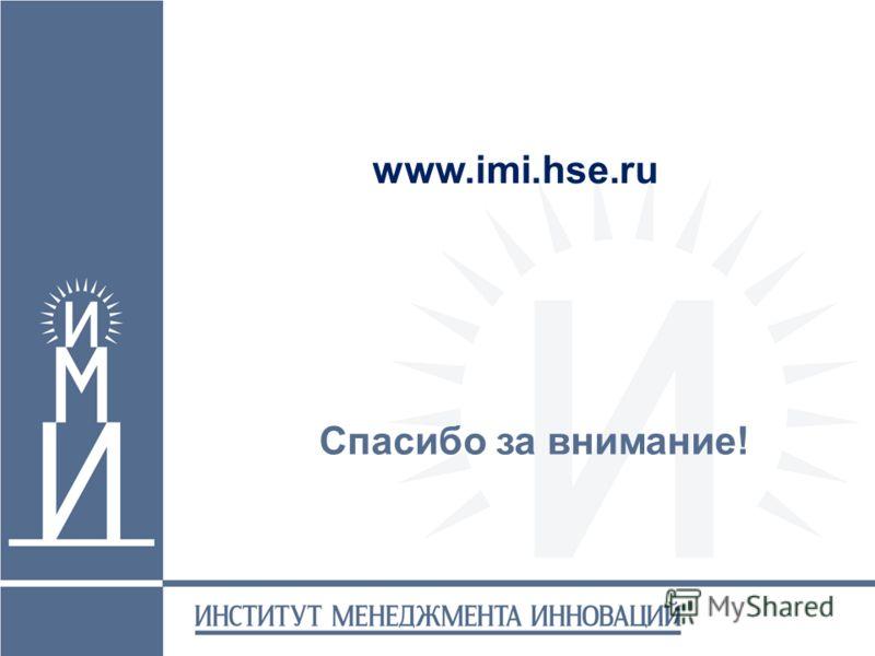 Спасибо за внимание! www.imi.hse.ru