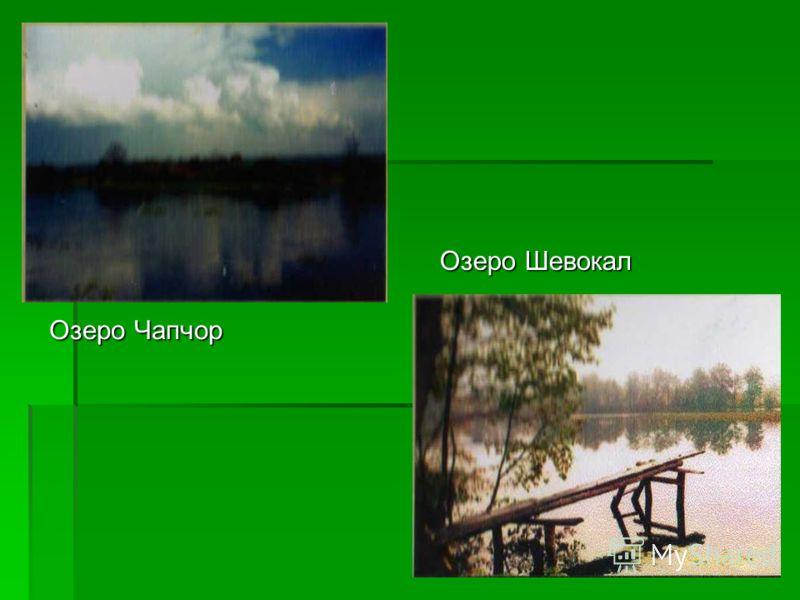 Озеро Чапчор Озеро Шевокал