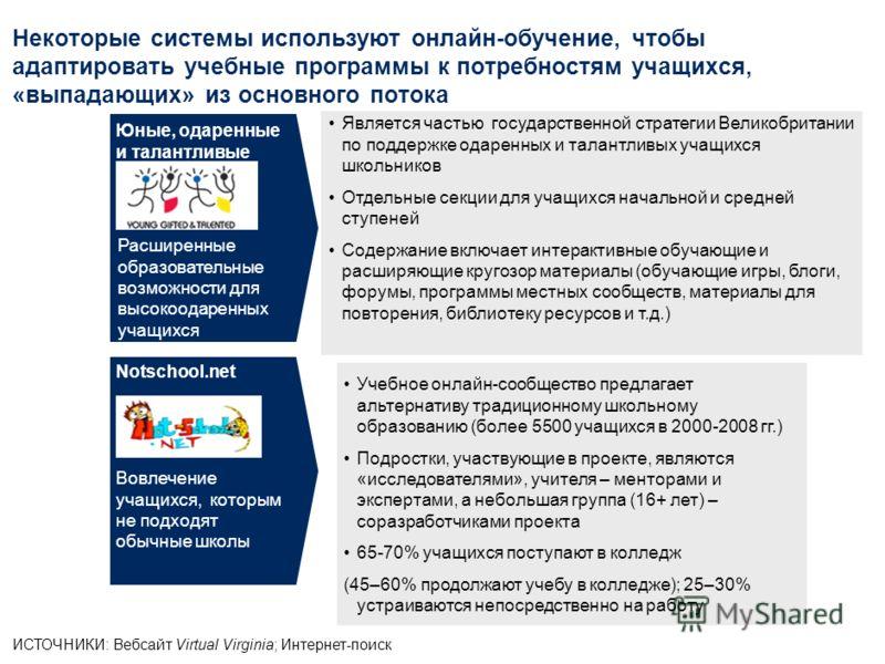 Платформы для онлайн-сотрудничества позволяют учителям обмениваться идеями и методическими наработками, а учащимся получить к ним доступ ИСТОЧНИКИ: Исследование ОЭСР о цифровых образовательных ресурсах как о системной инновации: отчет по Швеции 2009