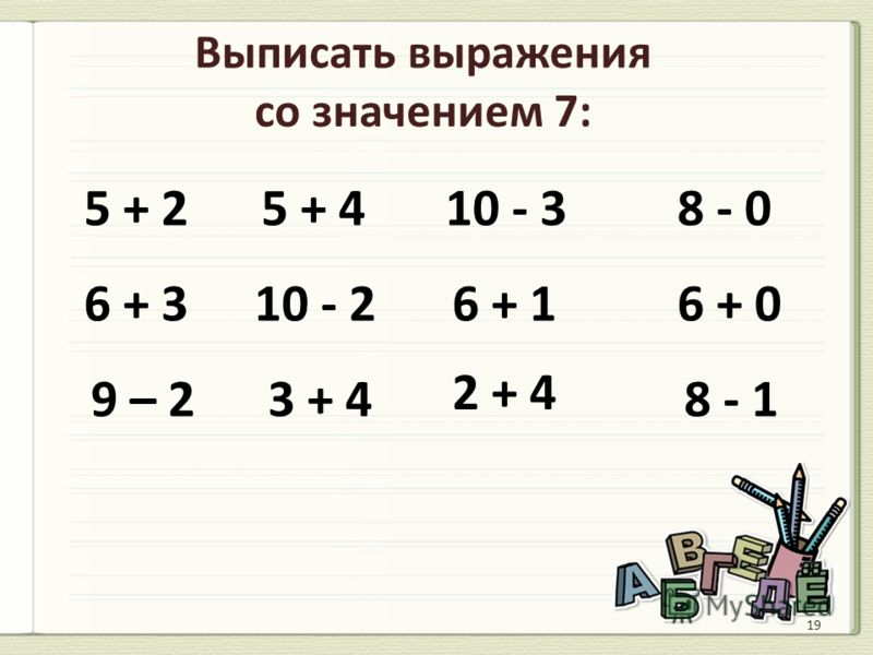 6 – 4 4 + 2 3 + 4 2 + 5 2 + 6 5 + 1 < = >