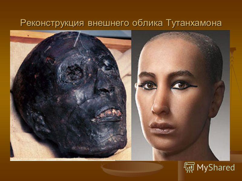 Реконструкция внешнего облика Тутанхамона