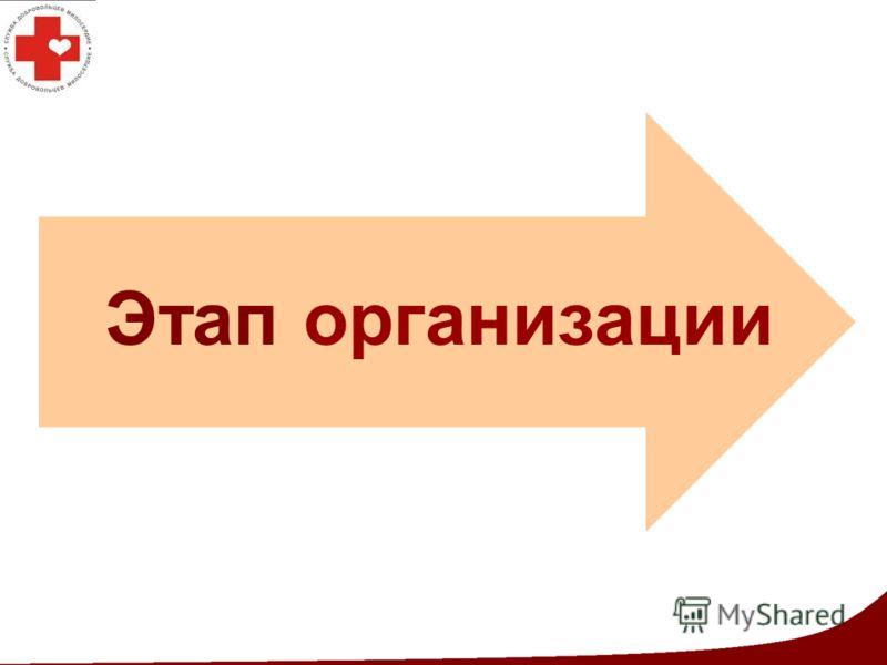 Этап организации