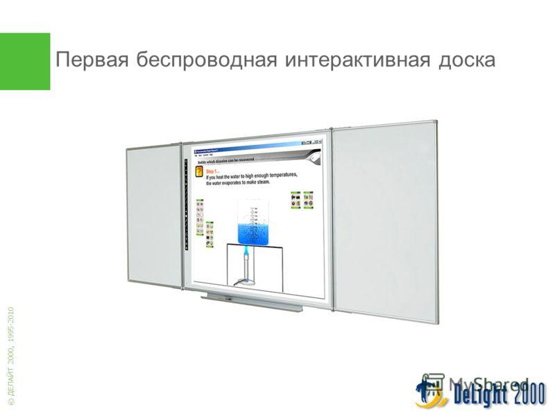 © ДЕЛАЙТ 2000, 1995-2010 Первая беспроводная интерактивная доска