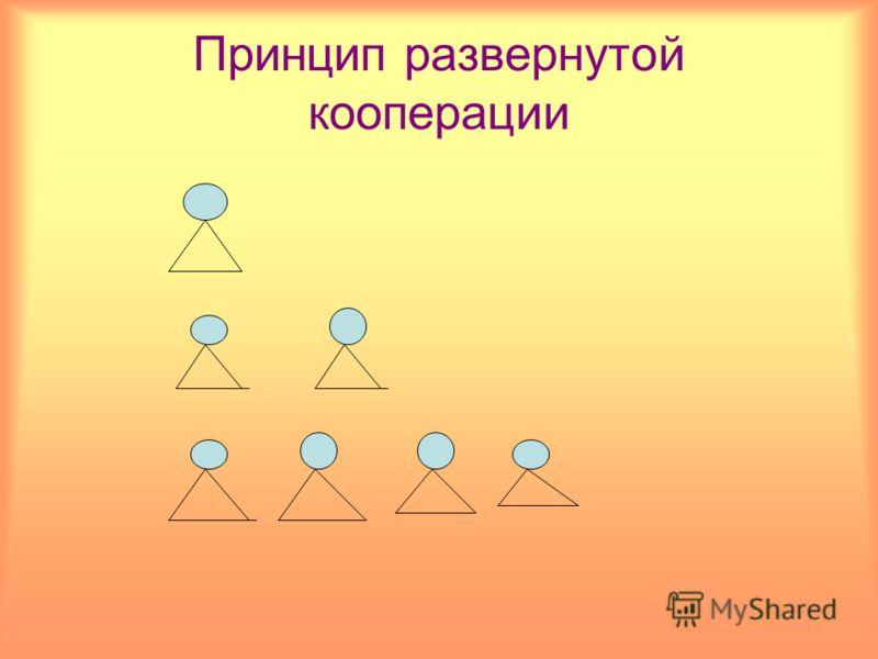Принцип развернутой кооперации