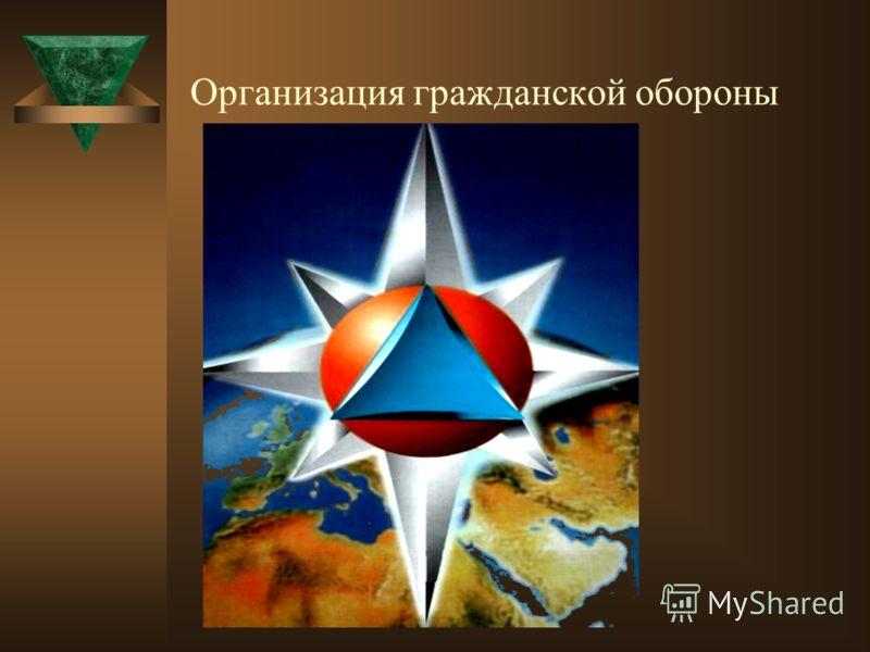 Организация гражданской обороны