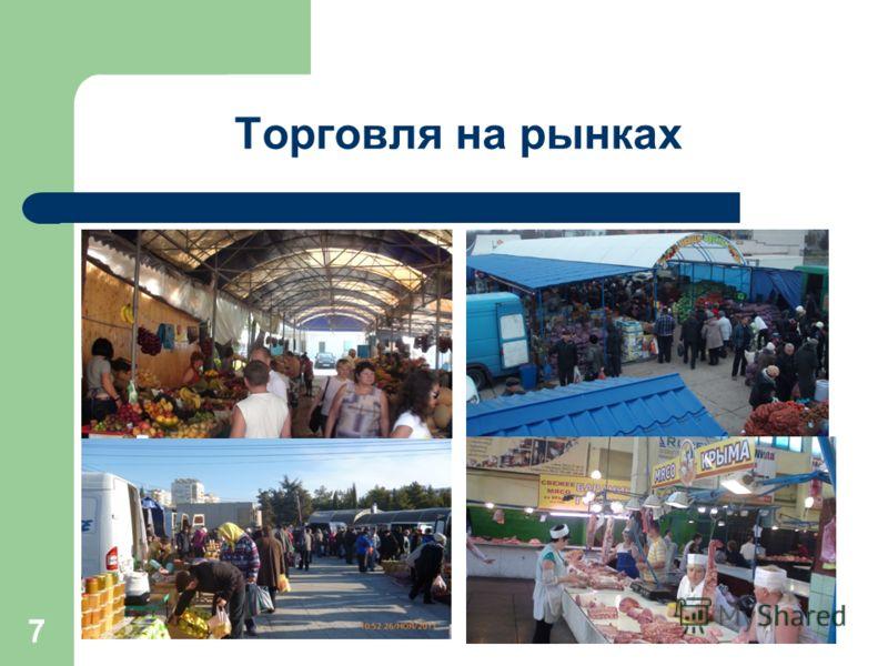 7 Торговля на рынках
