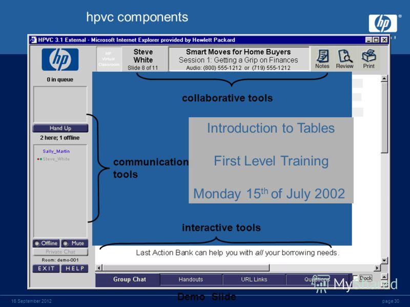 page 2916 September 2012 Некоторые из клиентов HP Education Services