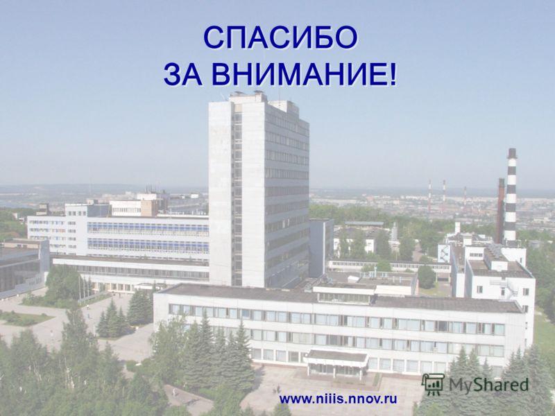 8 СПАСИБО ЗА ВНИМАНИЕ! www.niiis.nnov.ru