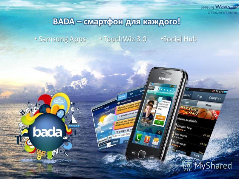 Samsung Apps Samsung Apps TouchWiz 3.0 TouchWiz 3.0 Social Hub Social Hub GT-S5330GT-S5250