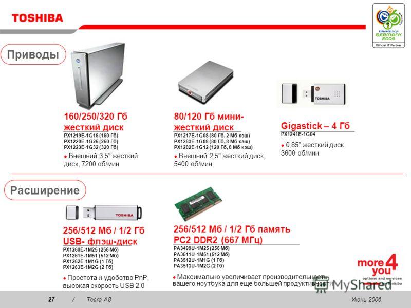 Июнь 200626/Tecra A8 Сумки для переноски Business Traveller PX1196E-1NCA Встроенная выдвижная ручка, запираемое отделение для ноутбука с мягкой вставкой Улучшенная сумка бизнес-класса PX1182E-1NCA Расширяемое отделение для принтера, передатчика или д