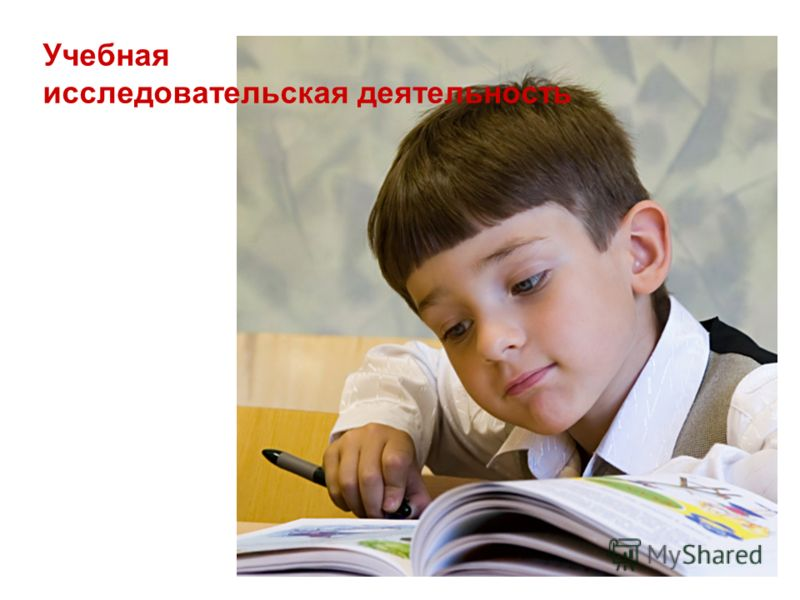 Учебная исследовательская деятельность