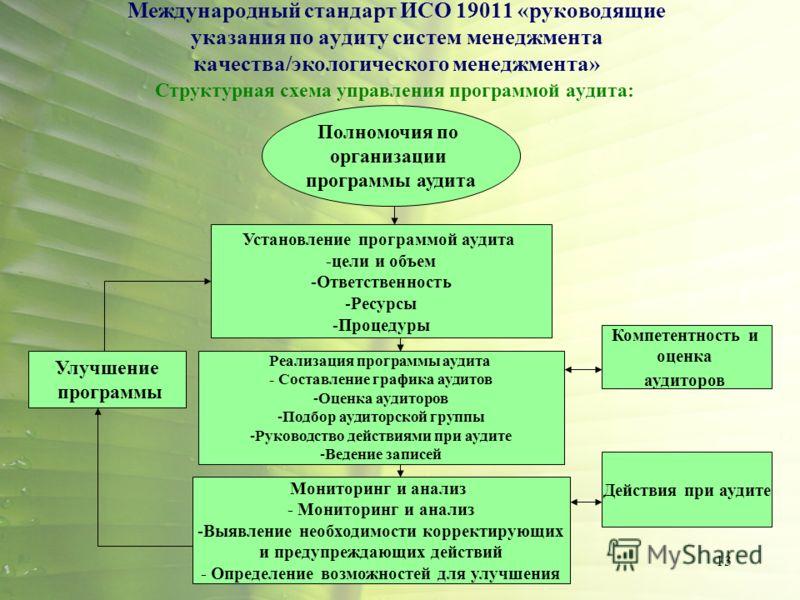 аудиту систем менеджмента