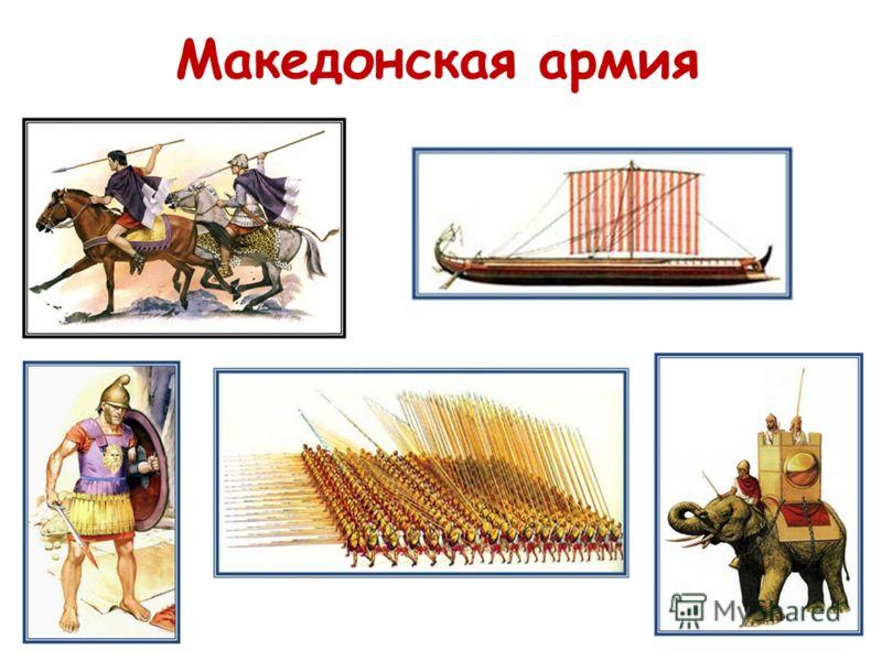 Македонская армия