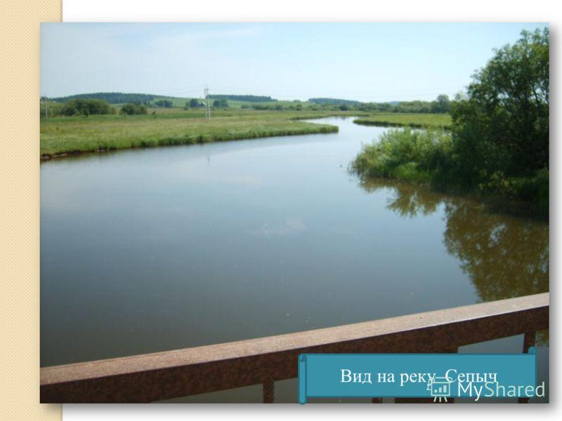 Вид на реку Сепыч