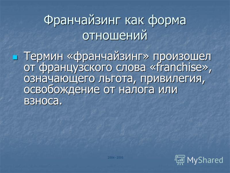 ФРАНЧАЙЗИНГ «Курьер Коррект»