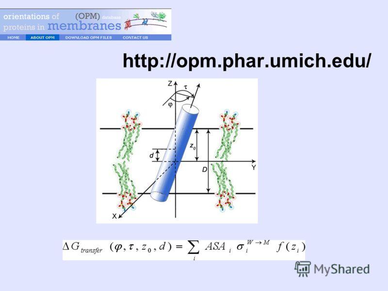 http://opm.phar.umich.edu/