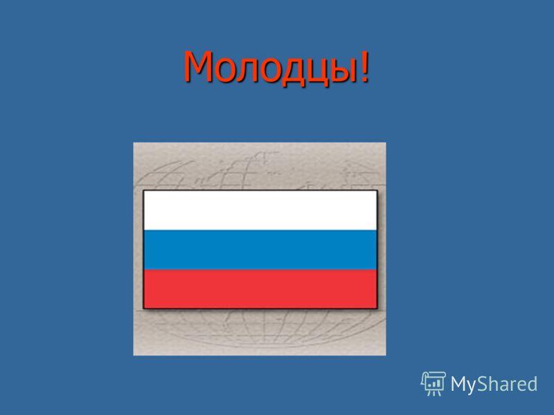 Проверь себя Составить из предложенных полосок цветной бумаги российский флаг Составить из предложенных полосок цветной бумаги российский флаг