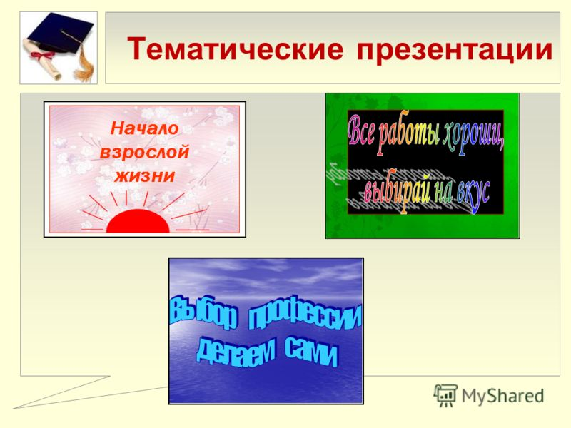 Тематические презентации
