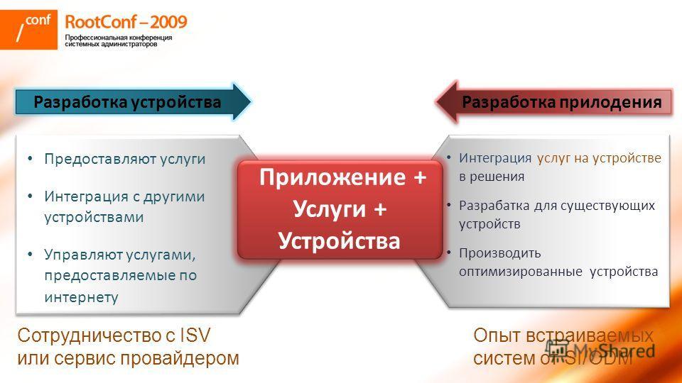 Предоставляют услуги Интеграция с другими устройствами Управляют услугами, предоставляемые по интернету Предоставляют услуги Интеграция с другими устройствами Управляют услугами, предоставляемые по интернету Интеграция услуг на устройстве в решения Р
