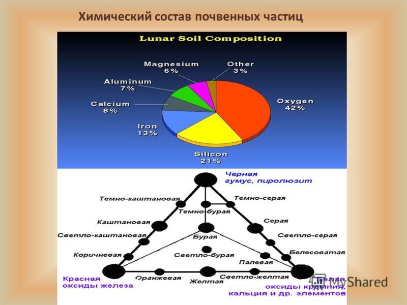 Химический состав почвенных частиц