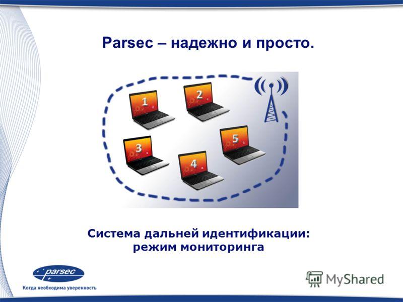 Система дальней идентификации: режим доступа Parsec – надежно и просто.