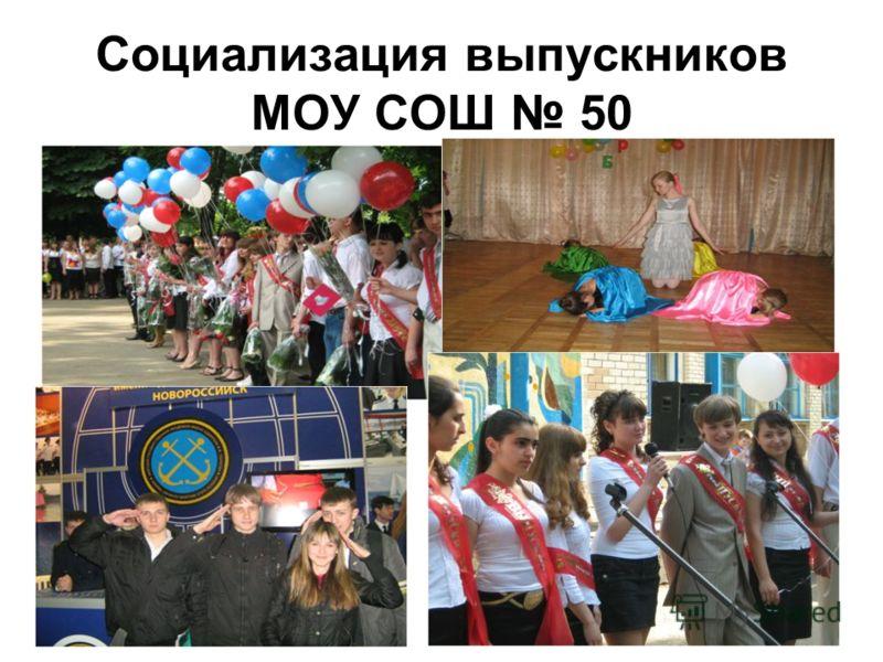 Социализация выпускников МОУ СОШ 50