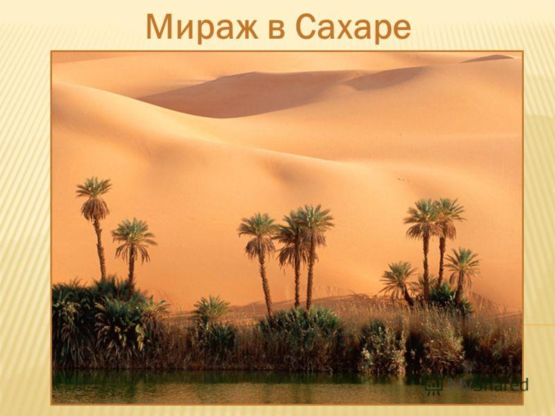 Мираж в Сахаре