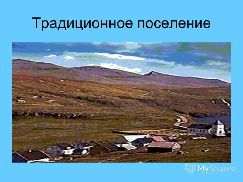 Традиционное поселение