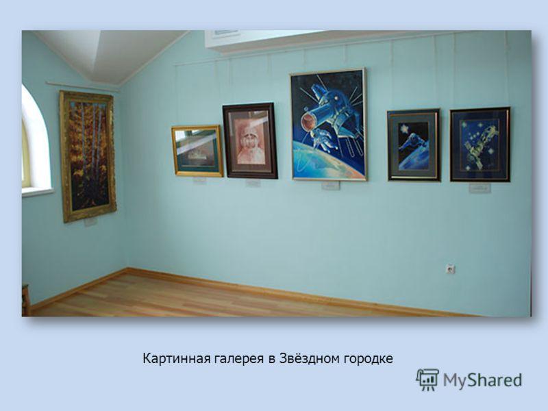 Картинная галерея в Звёздном городке