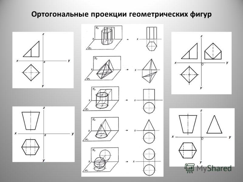 Ортогональные проекции геометрических фигур