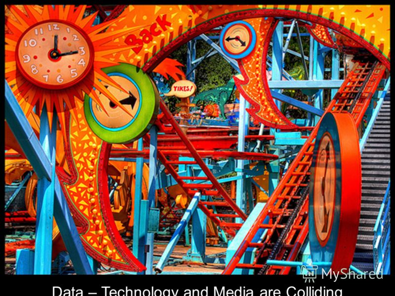 Data – Technology and Media are Colliding