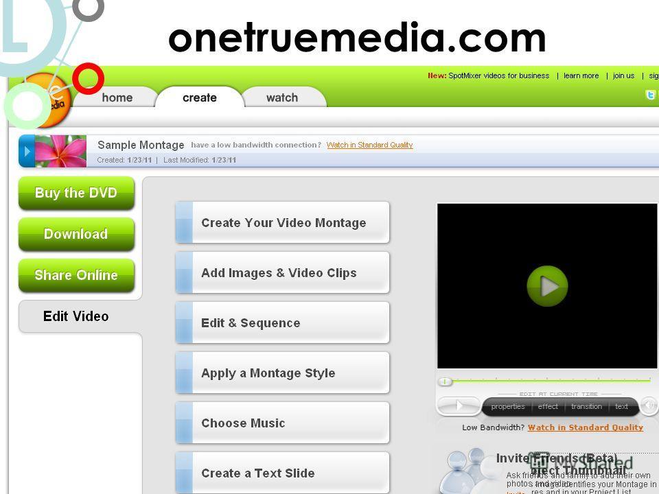http://studio.stupeflix.com/ onetruemedia.com L