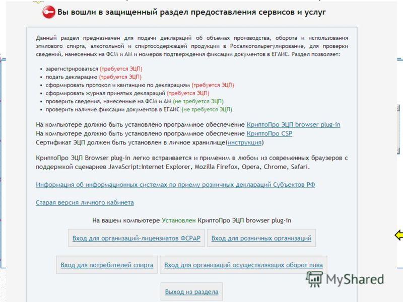 6. Порядок представления деклараций в электронном виде