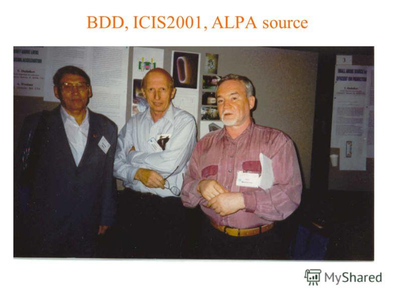 BDD, ICIS2001, ALPA source
