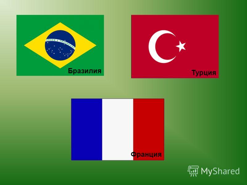 Бразилия Турция Франция