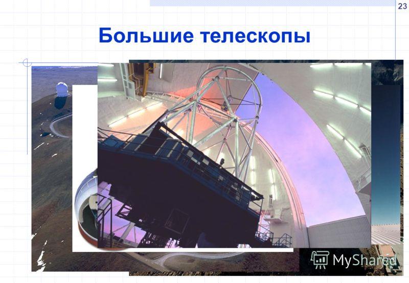 23 Большие телескопы