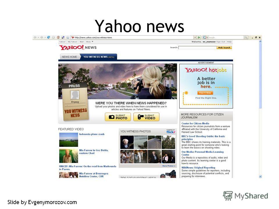 Yahoo news Slide by Evgenymorozov.com