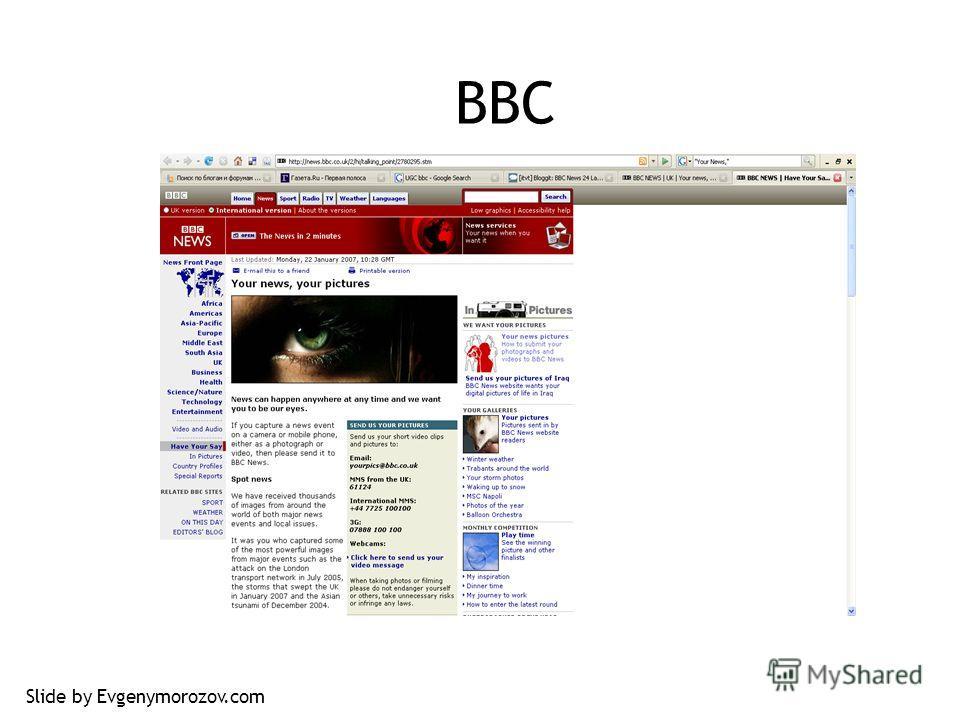 BBC Slide by Evgenymorozov.com