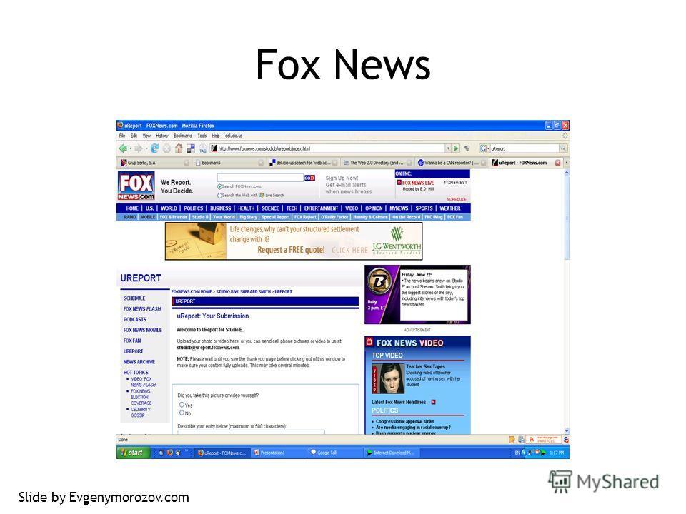 Fox News Slide by Evgenymorozov.com
