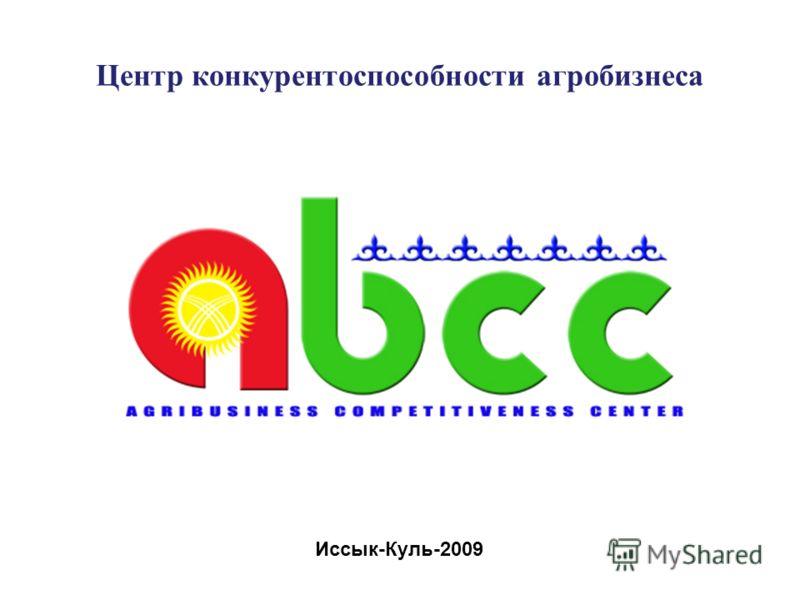 Центр конкурентоспособности агробизнеса Иссык-Куль-2009